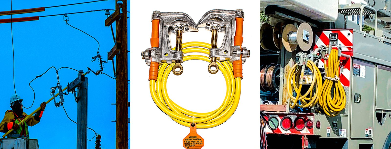 Protective grounding equipment from Mueller Electric